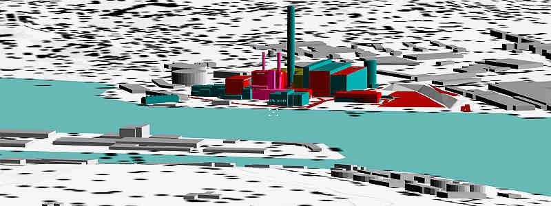 Erstellung Emissionskataster und Immissionsprognose des Heizkraftwerkes der Stadtwerke Flensburg sowie Begleitung der Planung zum Bau der neuen Gasturbine inkl. Abnahmemessungen