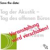 Tag der Akustik Potsdam Tag gegen Lärm 2020